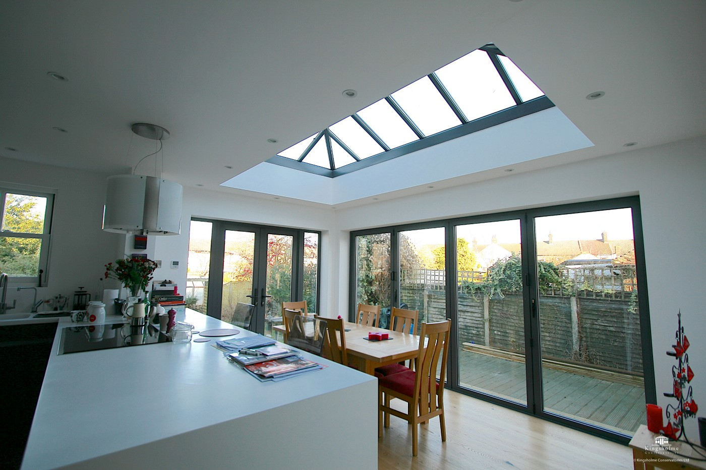 Contemporary Kitchen Extensions Uk