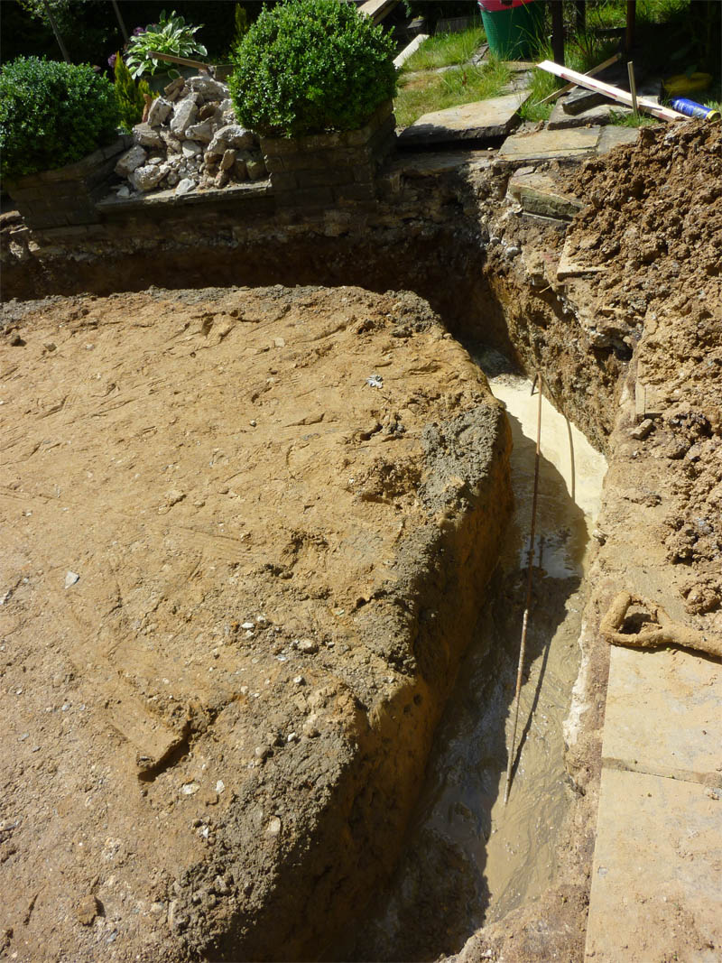 orangery foundations