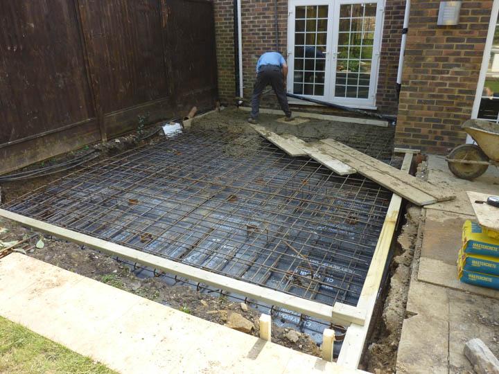 Reinforced Concrete Raft Kingsholme