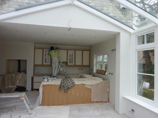 conservatory kitchen extension