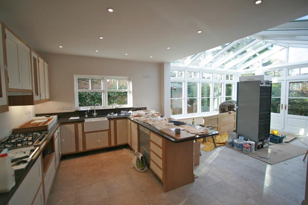 Conservatory Kitchen Extension - Kingsholme