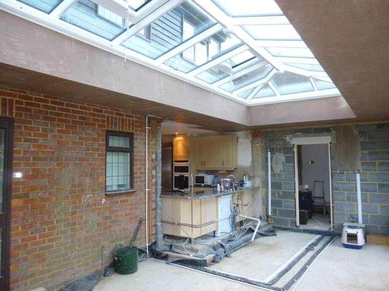 Orangery kitchen extension - 32