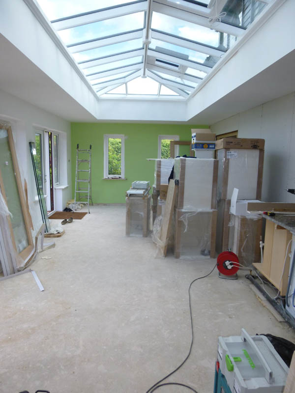 Orangery kitchen extension - 36