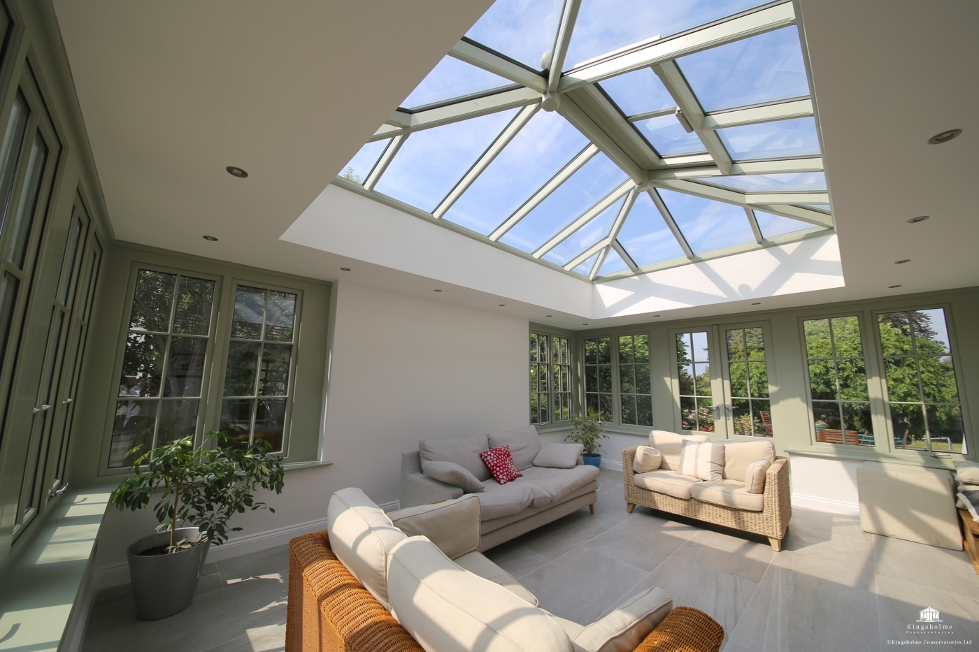 Hardwood orangery in Berkhamsted