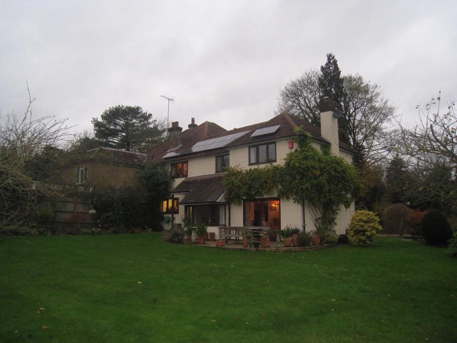 Hardwood Orangery in Hertfordshire