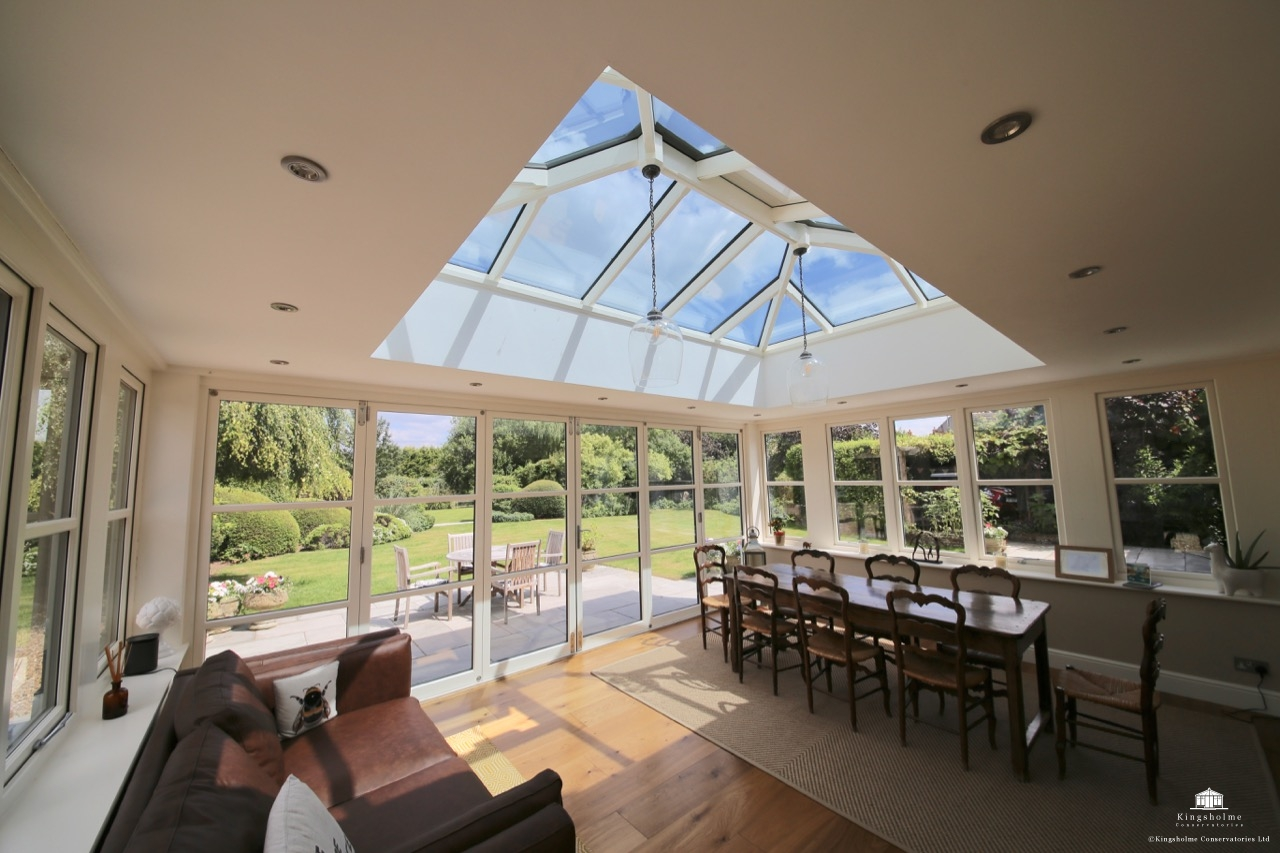 hardwood orangery in Bucks