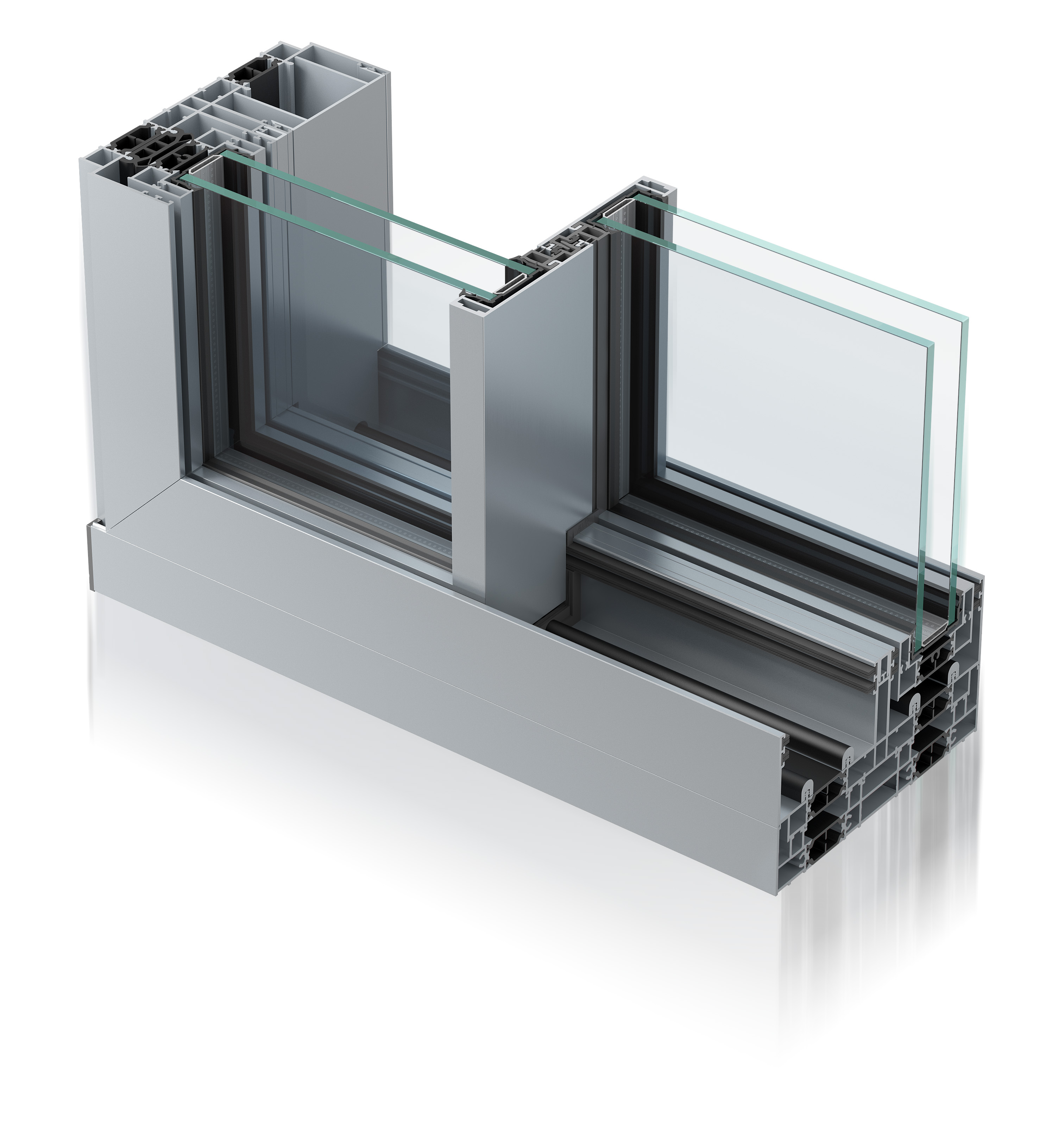 Infinium sliding doors