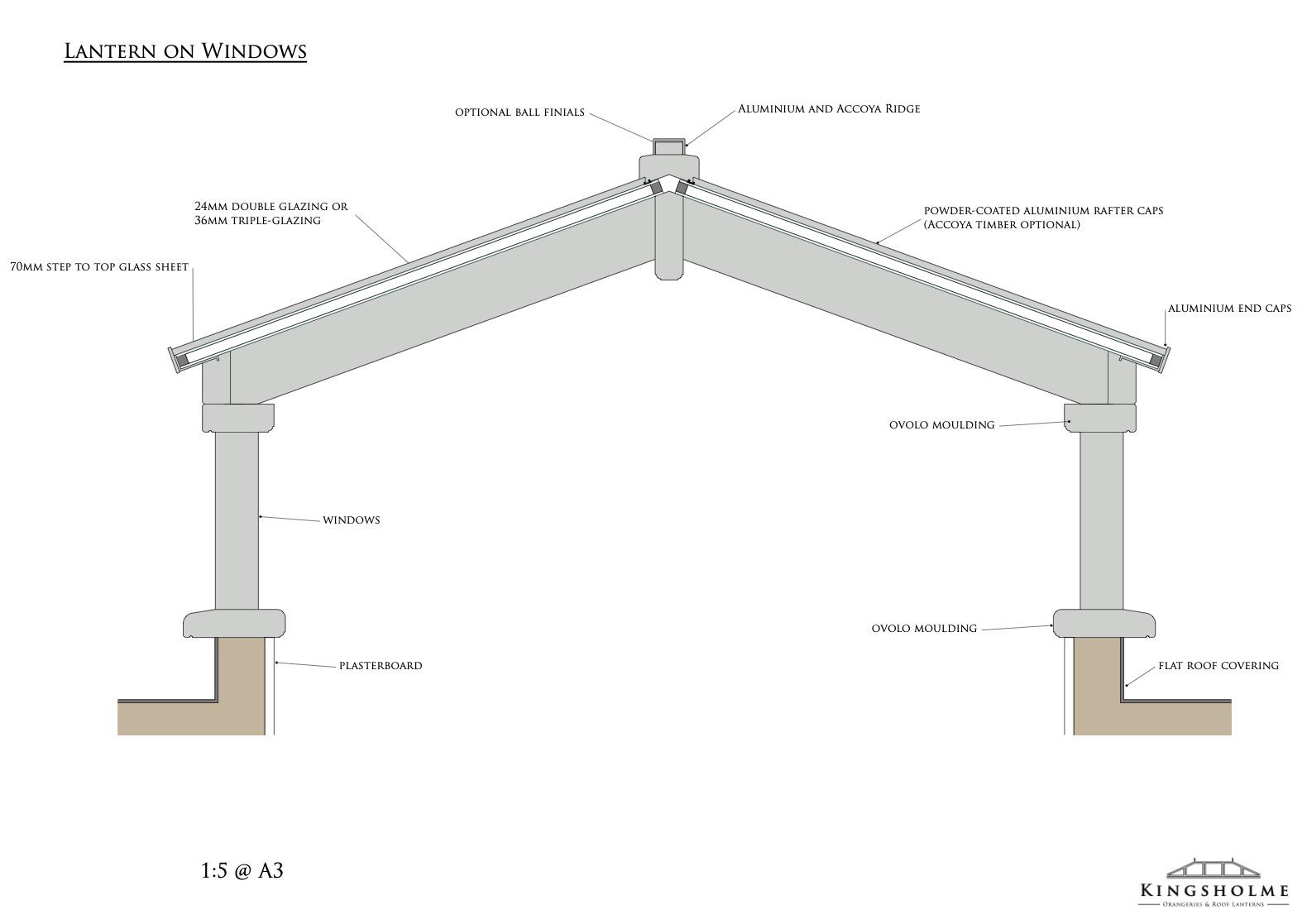 timber lantern